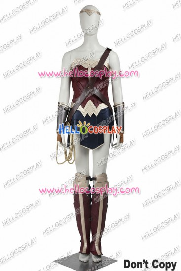 Batman v Superman Dawn of Justice Wonder Woman Cosplay Costume