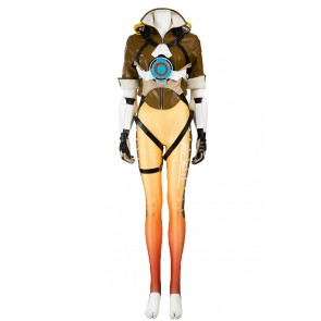 Overwatch Cosplay Tracer Costume Uniform