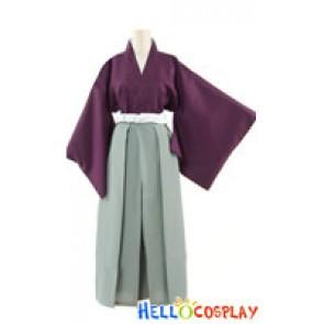 Hakuōki Hakuouki Shinsengumi Kitan Cosplay Toshizo Hijikata Costume Kimono
