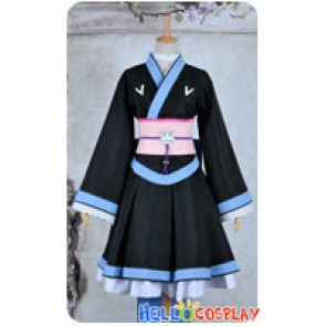 Problem Children Are Coming From Another World Mondaiji Cosplay Shiroyasha Costume