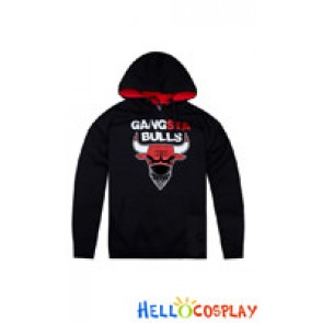 Chicago Bulls True Team Cosplay Gangsta Bulls FLAT BILL Hoodie