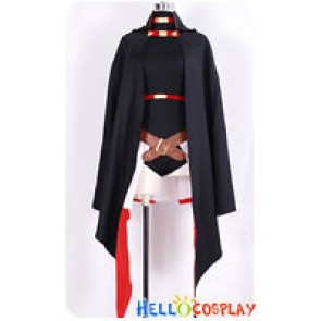 Magical Girl Lyrical Nanoha Cosplay Fate Testarossa Costume New Ver