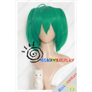 Macross Frontier Cosplay Ranka Lee Green Wig