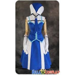Fairy Tail Cosplay Juvia Lockser Loxar Dress Costume