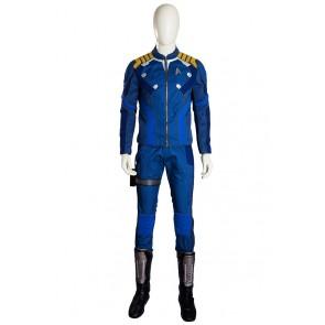 Star Trek Beyond James Kirk Captain Uniform Cosplay Costume