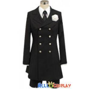 Black Butler 2 Kuroshitsuji II Cosplay Funeral Costume