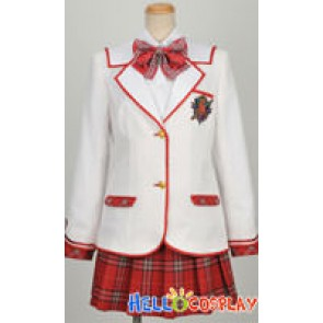 Daitoshokan No Hitsujikai Cosplay School Girl Uniform