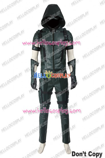 Green Arrow 4 Oliver Queen Cosplay Costume