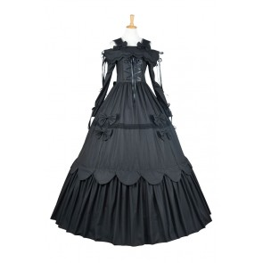 Lolita Dress Southern Belle Gothic Lolita Gown Dress Cosplay Costume