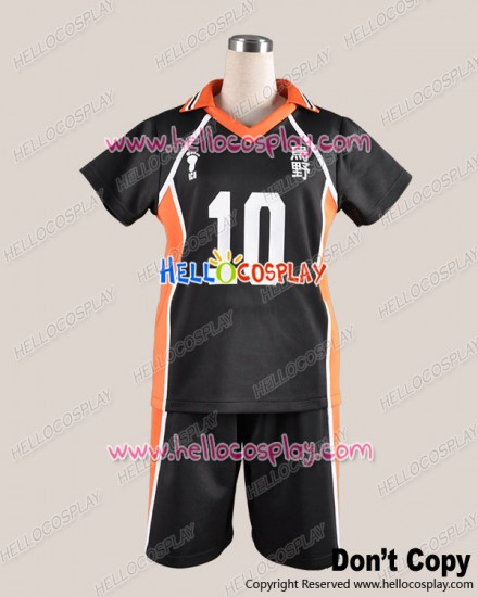 Haikyū Cosplay Volleyball Juvenile The 10th Ver Sports Uniform Costume