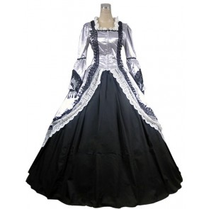 Marie Antoinette Victorian Wedding Dress Ball Gown Prom