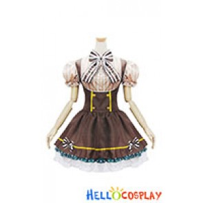 Love Live Cosplay Hanayo Koizumi Maid Dress