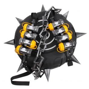 Overwatch Cosplay Junkrat Jamison Fawkes Explosion Tires Grenades Weapon Prop