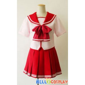 ToHeart 2 Cosplay School Girl Summer Uniform