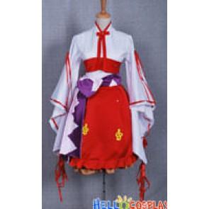 Vocaloid 2 Cosplay Tsugai Kogarashi Hatsune Miku Costume