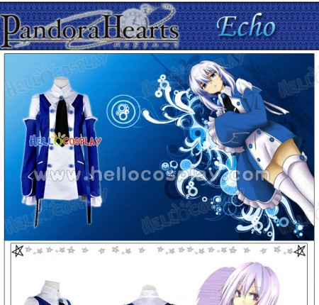 Pandora Hearts Cosplay Echo Costume