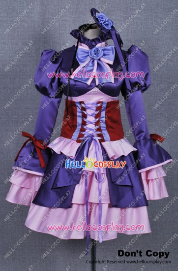 Katekyo Hitman Reborn Chrome Dokuro Cosplay Dress