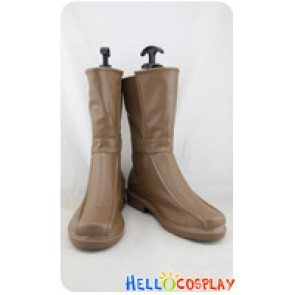 Final Fantasy FF7 Cosplay Shoes Aerith Boots