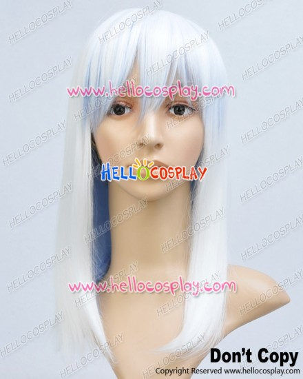 Makai Ouji Devils And Realist Cosplay Michael White Blue Wig