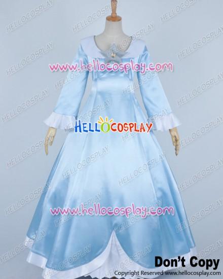 Super Mario Galaxy Cosplay Princess Rosalina Costume Dress
