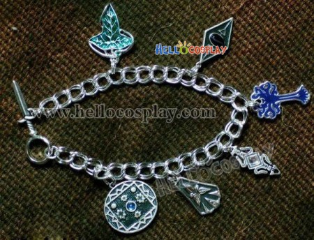 The Lord of the Rings Alloy Charm Bracelet