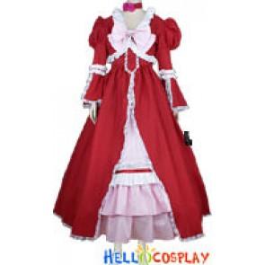 Black Butler Kuroshitsuji Elizabeth Middleford Cosplay Costume