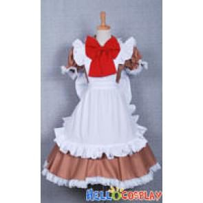 Axis Powers Hetalia Cosplay Italy Maid Dress
