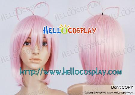 Blue Exorcist Cosplay Shiemi Moriyama Pink Wig