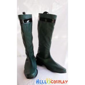 Tokusou Sentai Dekaranger Cosplay Green Boots