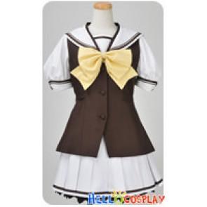 Shuffle Cosplay Lisianthus Kaede Fuyou Uniform Costume