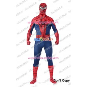 Spider Man Peter Parker Cosplay Costume Jumpsuit