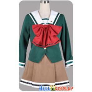 Tokimeki Memorial 2 4 Cosplay Hikari Hinomoto Rui Nanakawa Uniform Costume
