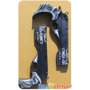 Devil May Cry 5 Cosplay Dante Ebony & Ivory Guns Weapon New