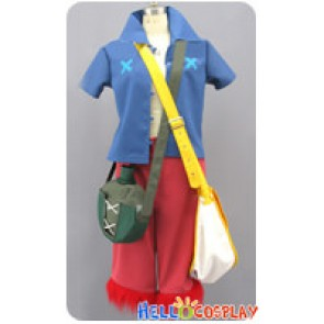 One Piece Strong World Cosplay Monkey D Luffy Costume Full Set