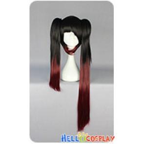 Date A Live Kurumi Tokisaki Cosplay Wig Ponytails