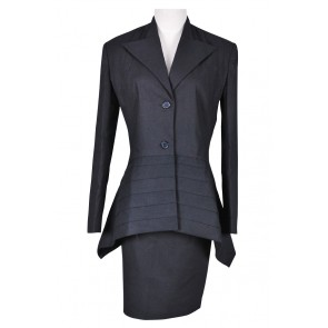 Doctor Dr. Black Dress Suit Costume