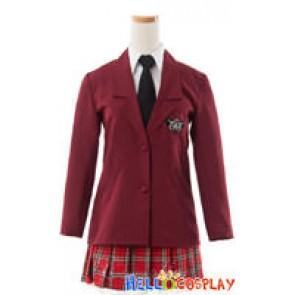 Hetalia: Axis Powers Cosplay Gakuen School Girl Uniform