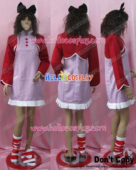 Code Geass Cosplay Anya Alstreim Pink Dress Costume