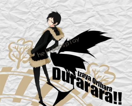 Durarara!! Cosplay Izaya Orihara Cosplay Costume (Coat)