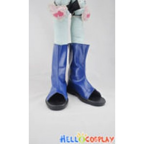Naruto Cosplay Shoes Blue Short Boots