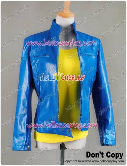 Superman Supergirl Jacket Cosplay Costume