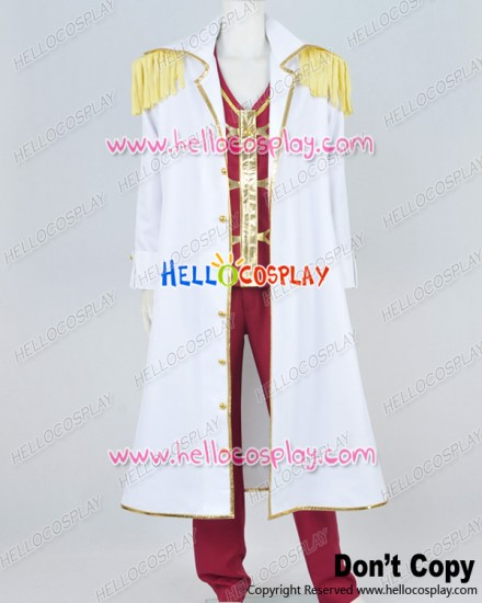 One Piece Cosplay Navy Headquarters Colonel Suit Costume