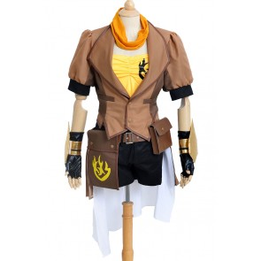 RWBY Cosplay Yellow Trailer Yang Xiao Long Costume Uniform