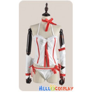 Sword Art Online Cosplay Asuna Yūki Suspenders Costume