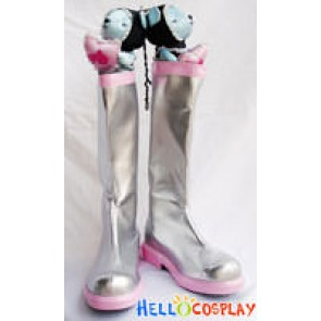 Vocaloid 2 Cosplay Sakura Miku Pink Boots