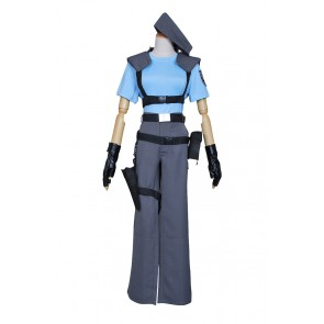 Resident Evil Jill Valentine Costume Uniform