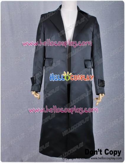 Smallville Clark Kent Cosplay Black Trench Coat Costume