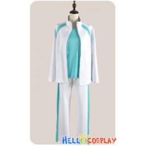 Haikyū Cosplay Volleyball Juvenile Blue White Sportswear Uniform Costume