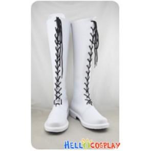 Uta No Prince Sama Cosplay Shoes Haruka Nanami White Boots