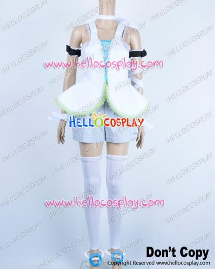 Vocaloid 2 Cosplay Len Kagamine Costume Light Purple Uniform